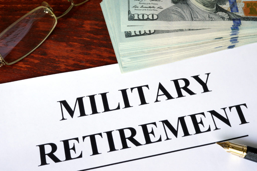 military retirement has changed.