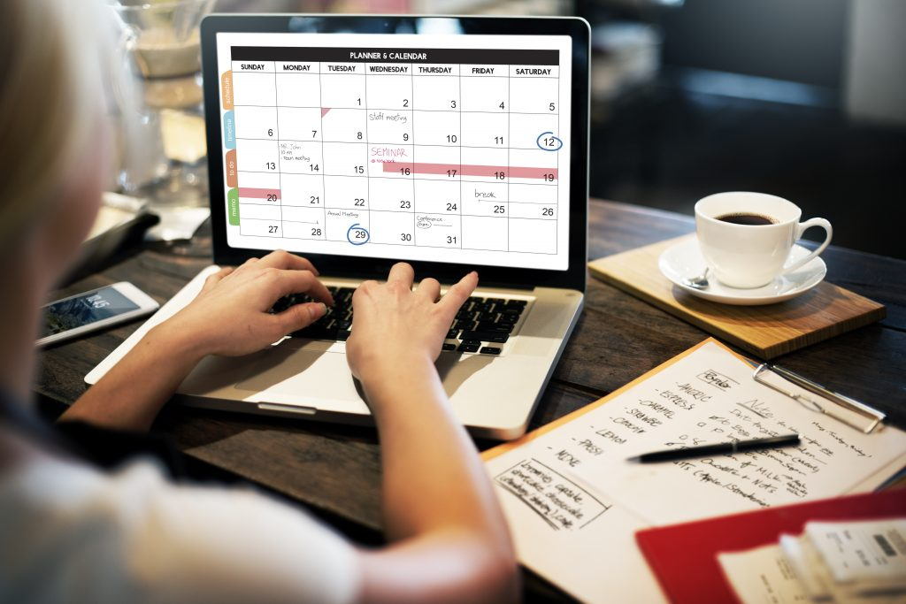 planning schedule for work-life balance