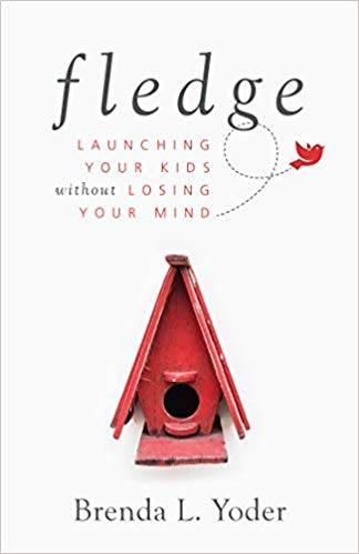 Self-Improvement Book #3: Fledge empty nester book cover